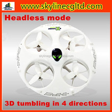 2015 New cheerson rc quadcopter intruder ufo, mini quadcopter with Headless mode