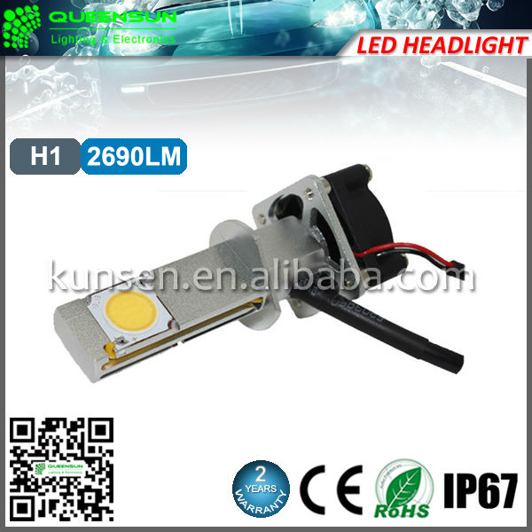 Universal 2690lms h1 CREE Xlamp CXA1507 led light kit