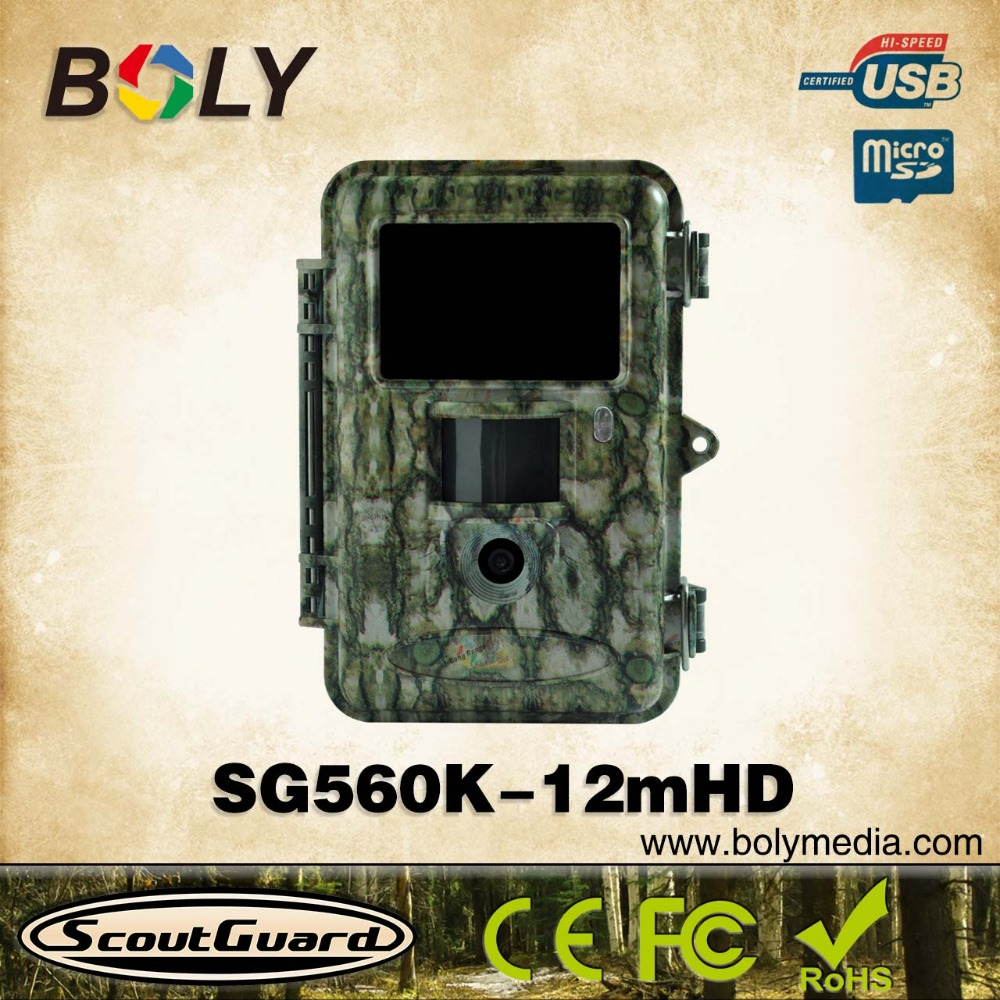 2015 12mp night vision low glow Black IR infrared 940nm 720p wild trail camera sale with two way communication