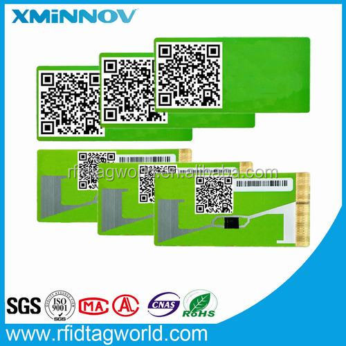 RFID Windshield Security TAG 1D Code EPC reserved