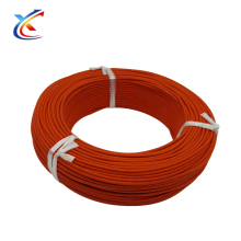 300v covering fiberglass braid silicon wire for high temperature