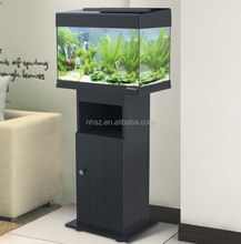 Fish Tank with Cabinet Aquarium LED Light for Tropical fish