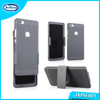 2016 Popular Model Black Color Hard Phone Rubber Case for Huawei P8 Lite