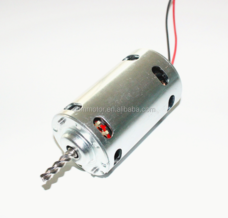 220V 100w 9000rpm Electric DC motor for paper shredder
