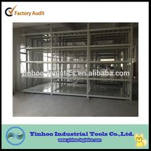 manufacturer customized steel tyre storage racks pallet stacking frames