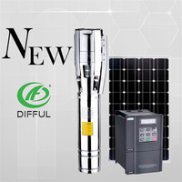 Submersible Solar Pump Discharge Submersible Deep Well Solar Pump