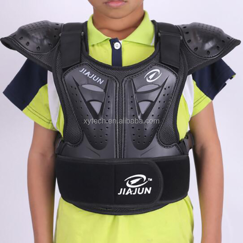 Child Motorcycle Jacket Armor Kid Chest Protector Teenage Shoulder Bike Motobike Riding Gear