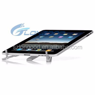 Aluminum Alloy desk/ table/ desktop/ bed Foldable Lazy Tablet Phone holder stand mount kit for iPad3