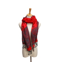 High Quality Fall And Winter Grid Cashmere Winter Scarf