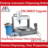Desktop dispensing robot price ZM-300ED AB mixing glue machine for LED light