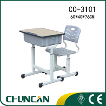 CC-3101 student desk and chair school furniture student table