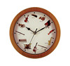 Home Decoration Customized Musical Instrument Wall Clock