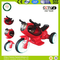 2016 new children toy car 3 wheels remote control ride on car electric toys for 3 - 8 years old child