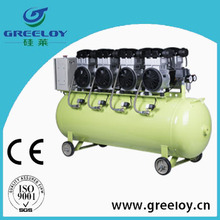service station piston silent type air compressor
