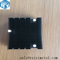 Aluminum Heatsinks with plastic nail