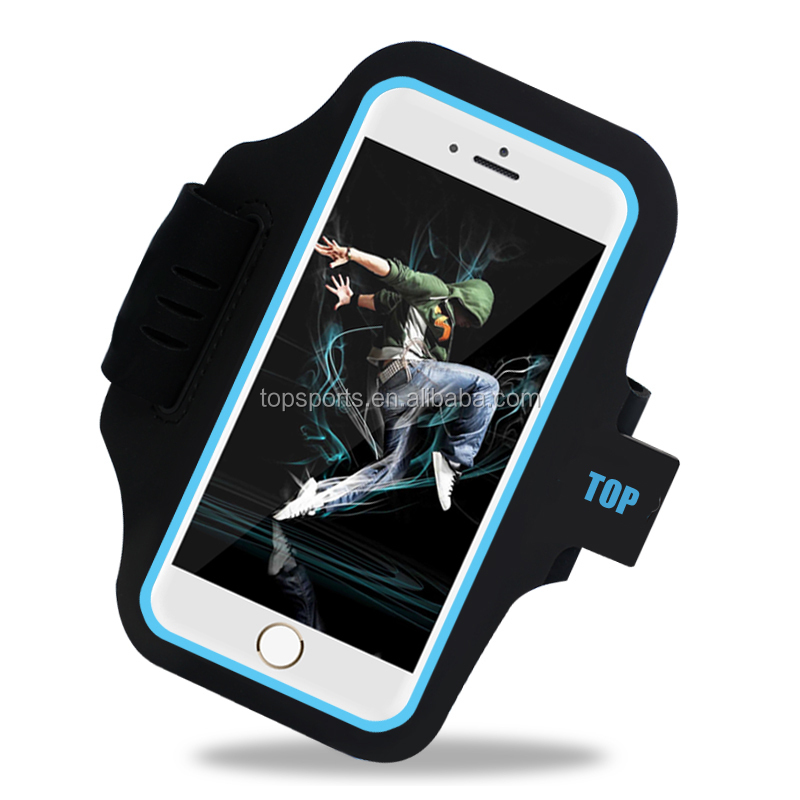 2016 Sport Gym Jogging Armlet Armband 3d Mobile Phone Bumper Case for iphone 7/ 7 plus
