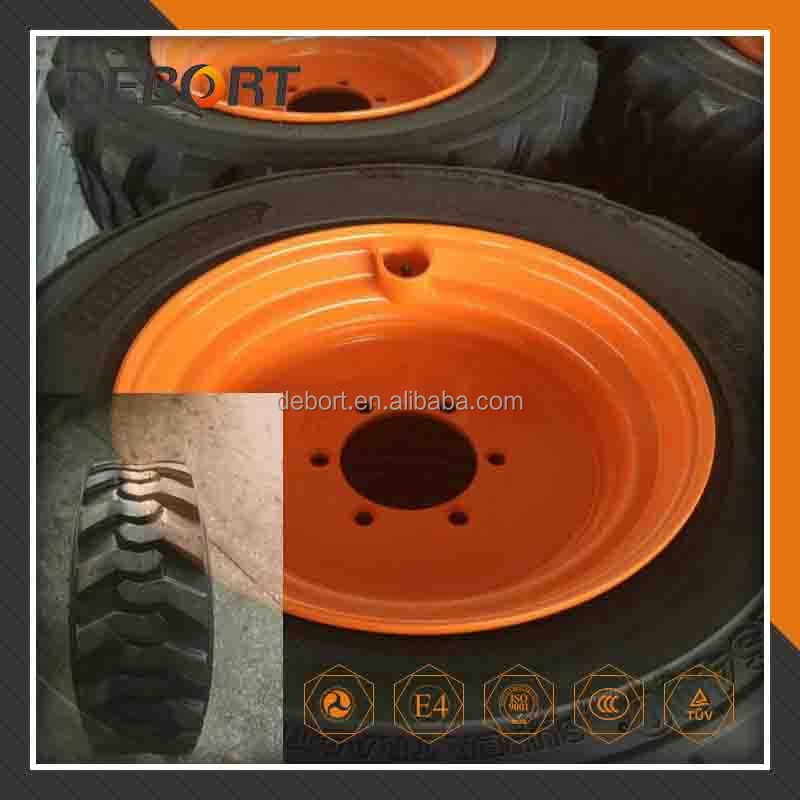 Skid steer tire rims 10-16.5 with wheel rim 8.25x16.5