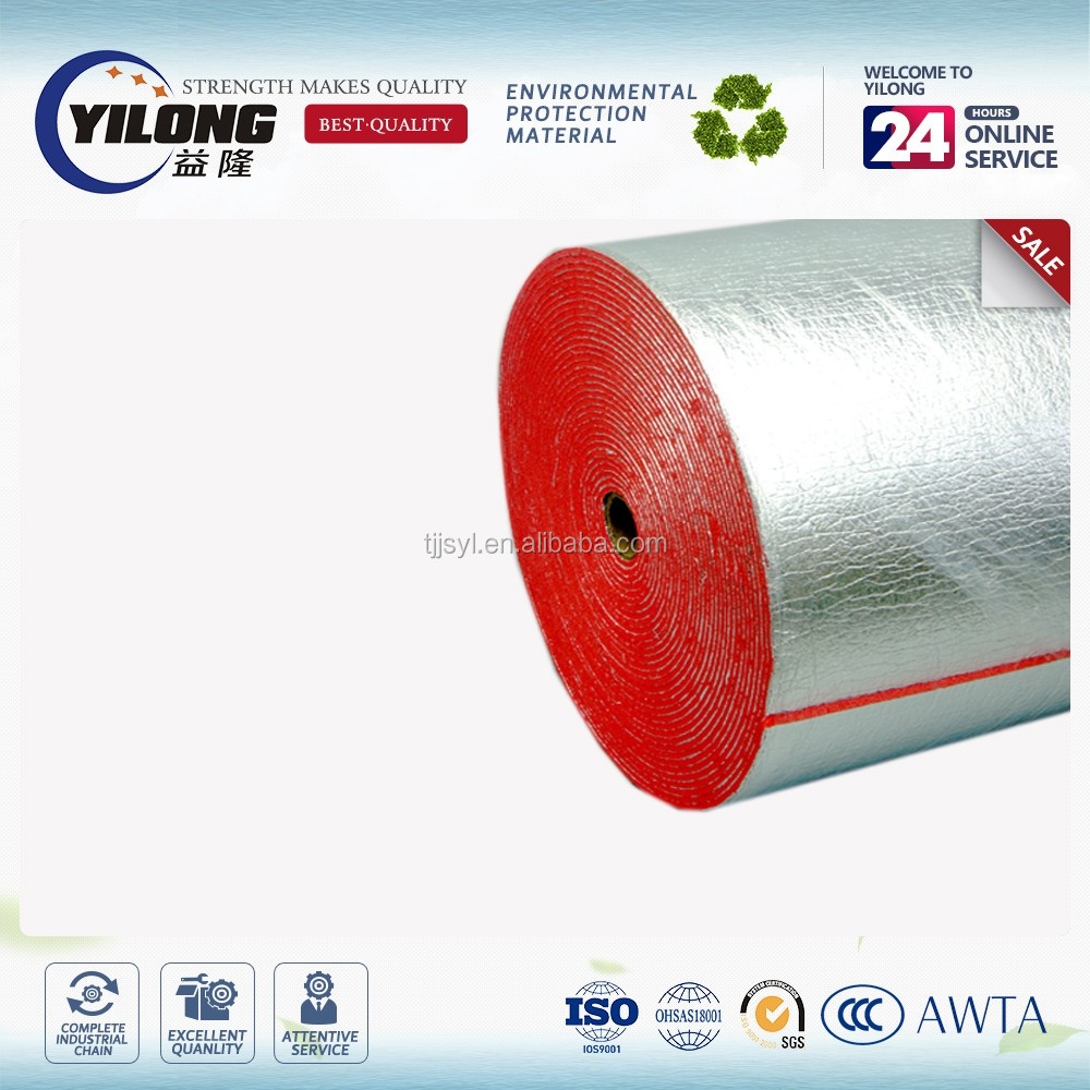 roofing sheet home theater foil insulation roll acoustic foam