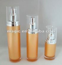 120ml acrylic bottle liquid cosmetics clear plastic packaging