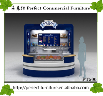 New arrival bubble tea pizza kiosk for sale