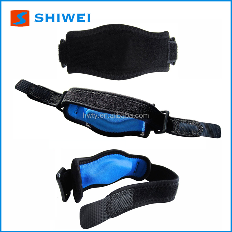 SHIWEI 1003# gel elbow tennis brace support hot sale on Amazon
