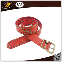 Hot Sale Genuine Leather Belts Woman Rivet Belts Wholesale With Many Size