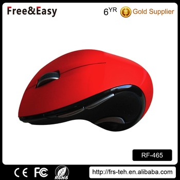 colorful custom 2.4g wireless mouse