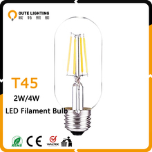 Best price UL ETL CE E27 E26 E12 B22 T14 2W 4W Dimmable led edison bulb filament