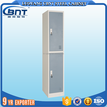 Cheap Gym Metal Locker / 2 Door Locker / Steel Clothes Cabinet