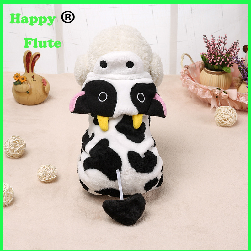Happyflute Dog Cotton Coat Warm Hoodie Cute Rabbit Ears Pet Clothes for dogs