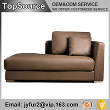 High Quality Best Price Modern Pu Headrest Leather Long Sofa