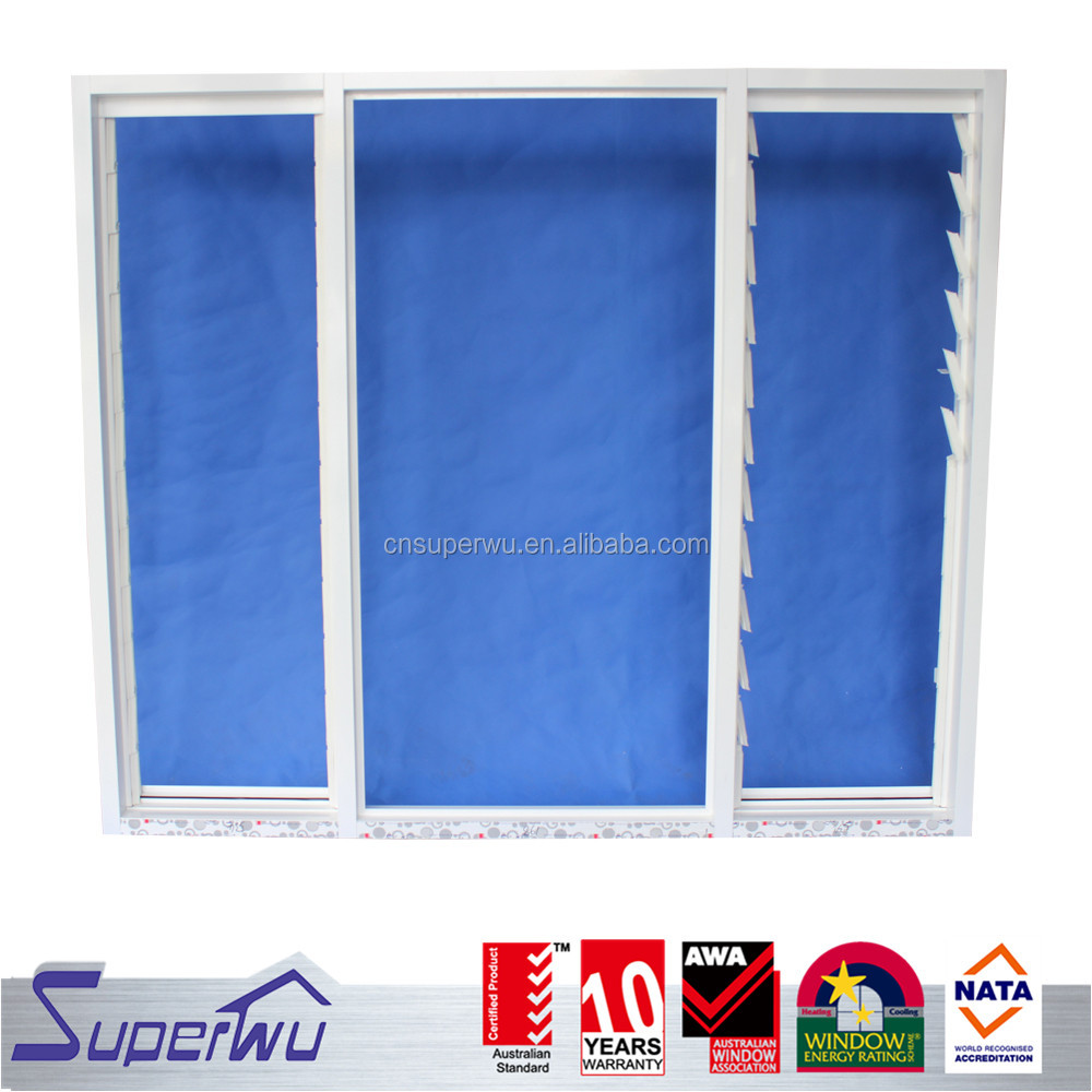 Aluminum Profile industrial adjustable shutter windows bulk buy from china