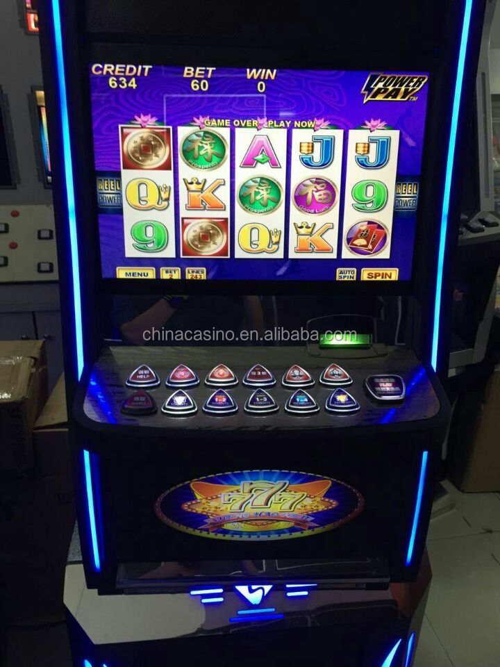 New arrival good quality slot game machine video casino game machine arcade game machine