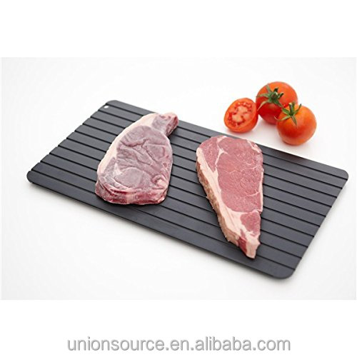2018 Home Fast Defrosting Tray The Safest Way to Defrost Meat or Frozen Food Quickly Without <strong>Electricity</strong>