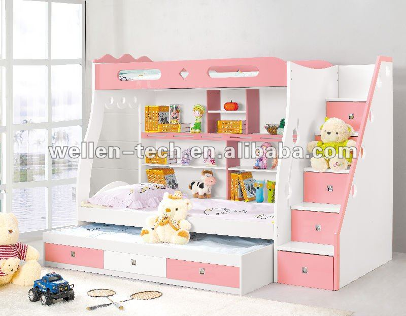 WM8803 colorful 2012 Stylest kid furniture bunk bed