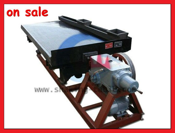 Iron Ore Dressing Gravity Separation Table For India Gold Concentrator