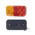 top sale!! stop turn tail truck trailer rear lights led truck tail light combination rear lamp