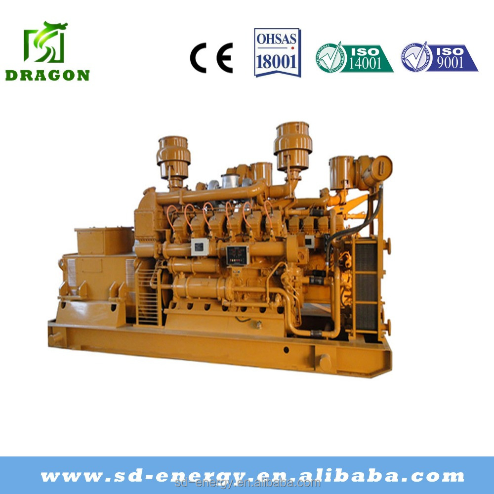 Coal mine/bed methane gas electric generator set from china