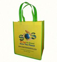 KHW Customized promotion compact reusable shopping bag