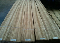 0.30mm zebrano wood veneer