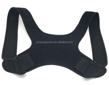 Customized Neoprene Back Shoulder Posture Corrector Elastic Support Improve Posture Upper Back Pain Relief