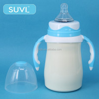 import baby products arc shape 180ml novelty stainless steel baby bottle manufacturers usa