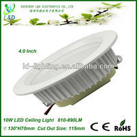 High Quality COB LED Downlight , 90mm cutout size dimmable led downlight