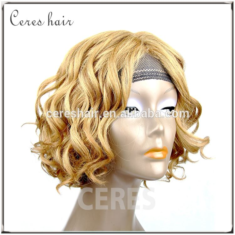 Best Selling Stock Brazilian Human Remy Hair Jewish Wig Manufacturer