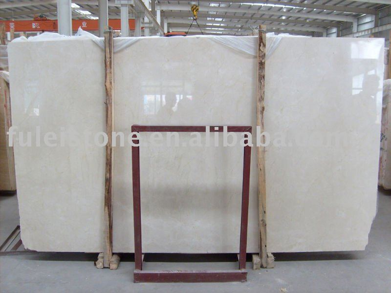 high quality Natural crema marfil marble slab (good price)
