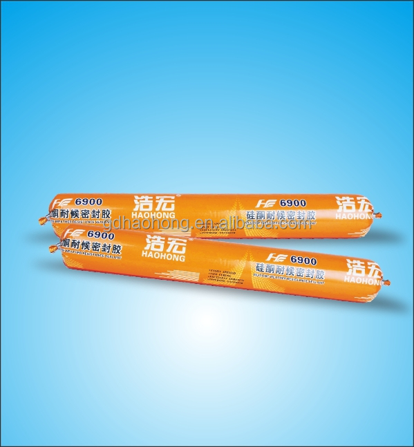 Polydimethylsiloxane weather resistant silicone sealant