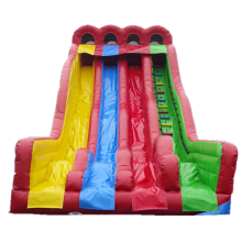 Rainbow design popular party rentals water slides giant inflatable water slide manufacturer