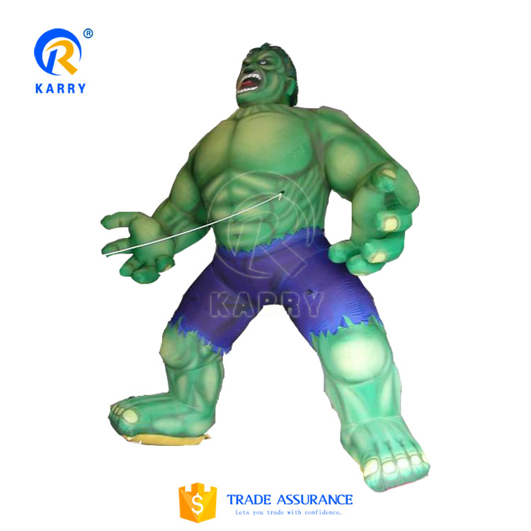 Giant monster hulk Inflatable model,outdoor activities decoration inflatable replica for events