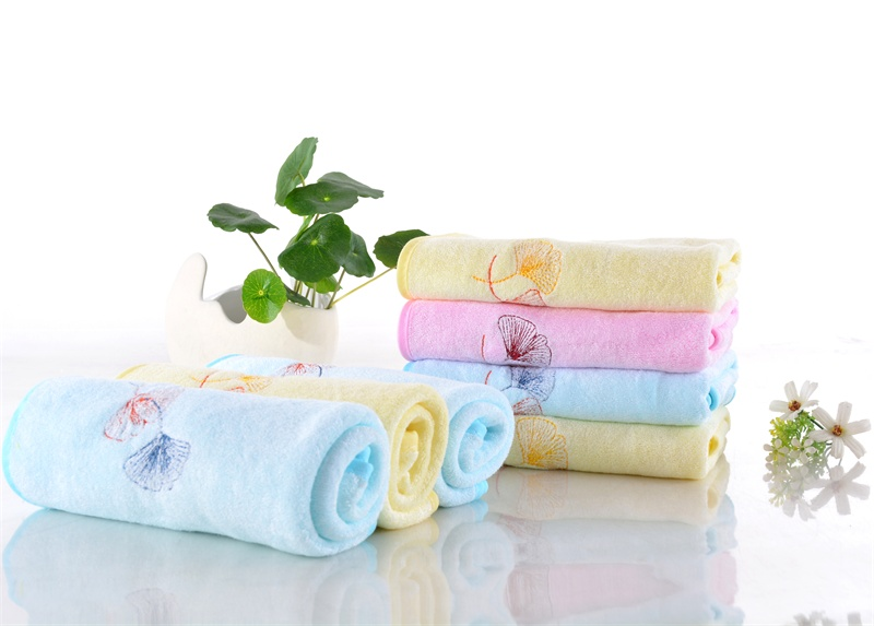 New 2017 Baby Products 100% bamboo fiber Baby Kids Blanket Swaddle Bath towel with embroidery
