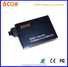 100BASE- TX optical media converter laser